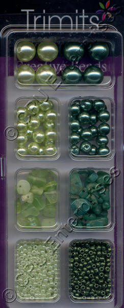 Trimits Beads - Green