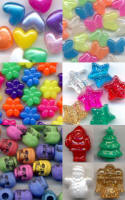 Shaped Pony Beads