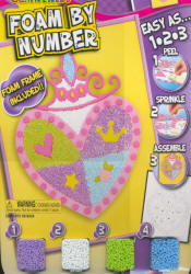 Foam by Number Kit