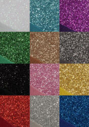 Glitter Covered Fabric