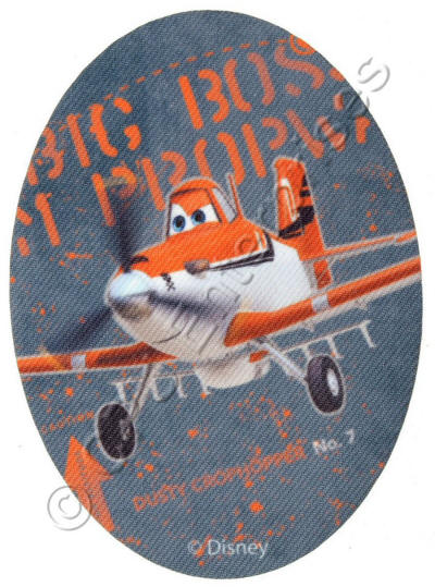 Oval Dusty from Planes Patch