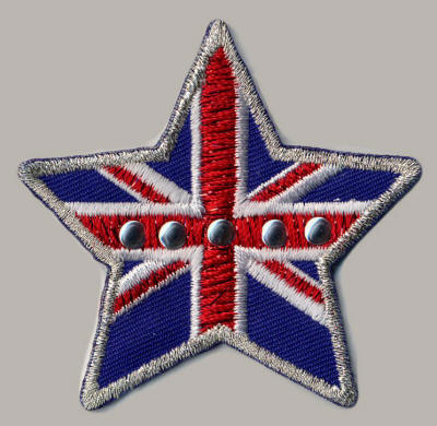 Studded Union Jack Star