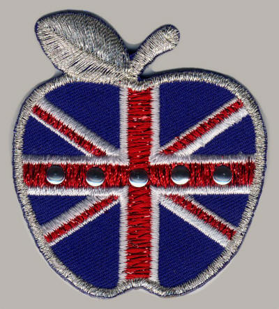 Studded Union Jack Apple
