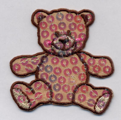 Sequin Teddy