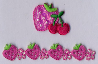 Strawberry and Cherry Motif