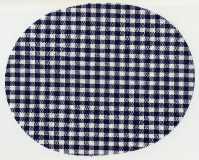 Navy Gingham Patch