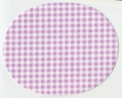 Lilac Gingham Patch