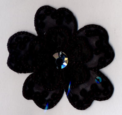 Black Gem Flower