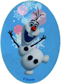 Olaf from Frozen Patch