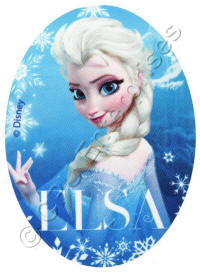 Elsa Face from Frozen Patch