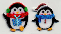 Two Xmas Penguins