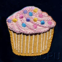 Cupcake with Sprinkles