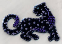 Black and Lilac Panther