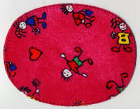 Red Cartoon Patch