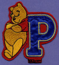 P is for Pooh