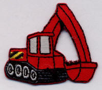 Small Red Digger