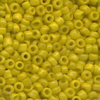 Yellow Rocailles Beads