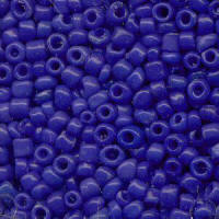 Royal Blue Rocailles Beads